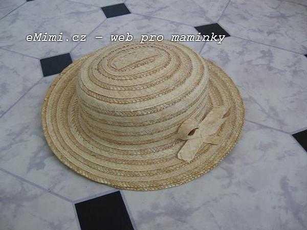 Dámský dívčí slaměný klobouk - slamák 02b651e68f
